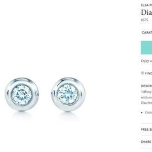 Tiffany&Co Diamond Stud Earrings